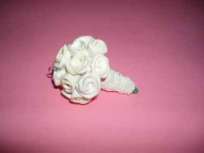 Wedding Bouquet Replica-Miniature Ornament/Statue-Wedding/Anniversary Gift