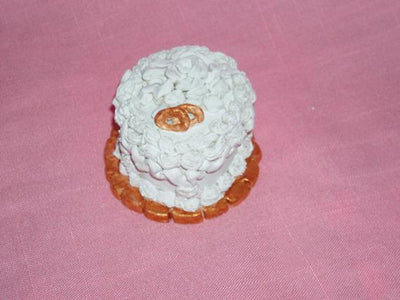 Your Own Custom Replica Mini Wedding Anniversary Cake-Miniature Ornament/Statue Unique Gift-Made to Order