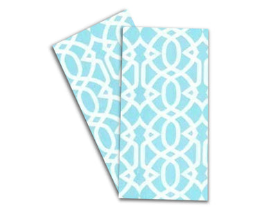 Baker Lovers Dream Tea Towels Set of 2-Geometric Aqua