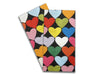 Baker Lovers Dream Tea Towels Set of 2-Rainbow Hearts