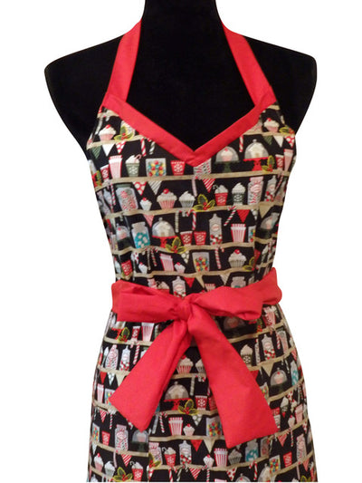 Holiday Candy Jars Miss Hotcakes Full Apron