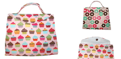 Sweet Cravings Doughnuts Insulated Lunch Bag/Lunch Tote Bag/Insulated Tote