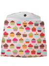 Sweet Cravings Cupcake Insulated Lunch Bag/Lunch Tote Bag/Insulated Tote