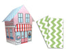Baker Lovers Dream Tea Towels Set of 2-Green Chevron