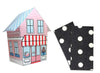 Baker Lovers Dream Tea Towels Set of 2-Black Polka Dots