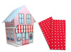 Baker Lovers Dream Tea Towels Set of 2-Red Polka Dots