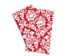 Baker Lovers Dream Tea Towels Set of 2-Red Damansk