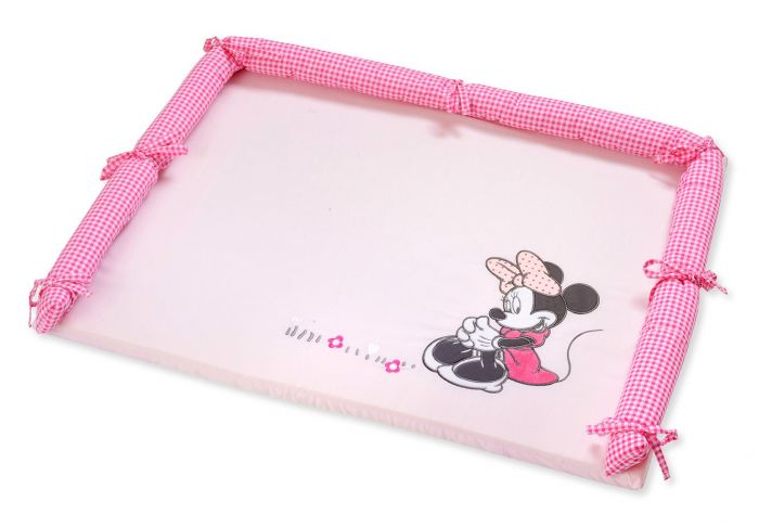 Disney Baby Minnie Mouse Flower Dresser cover - babymoonnursery