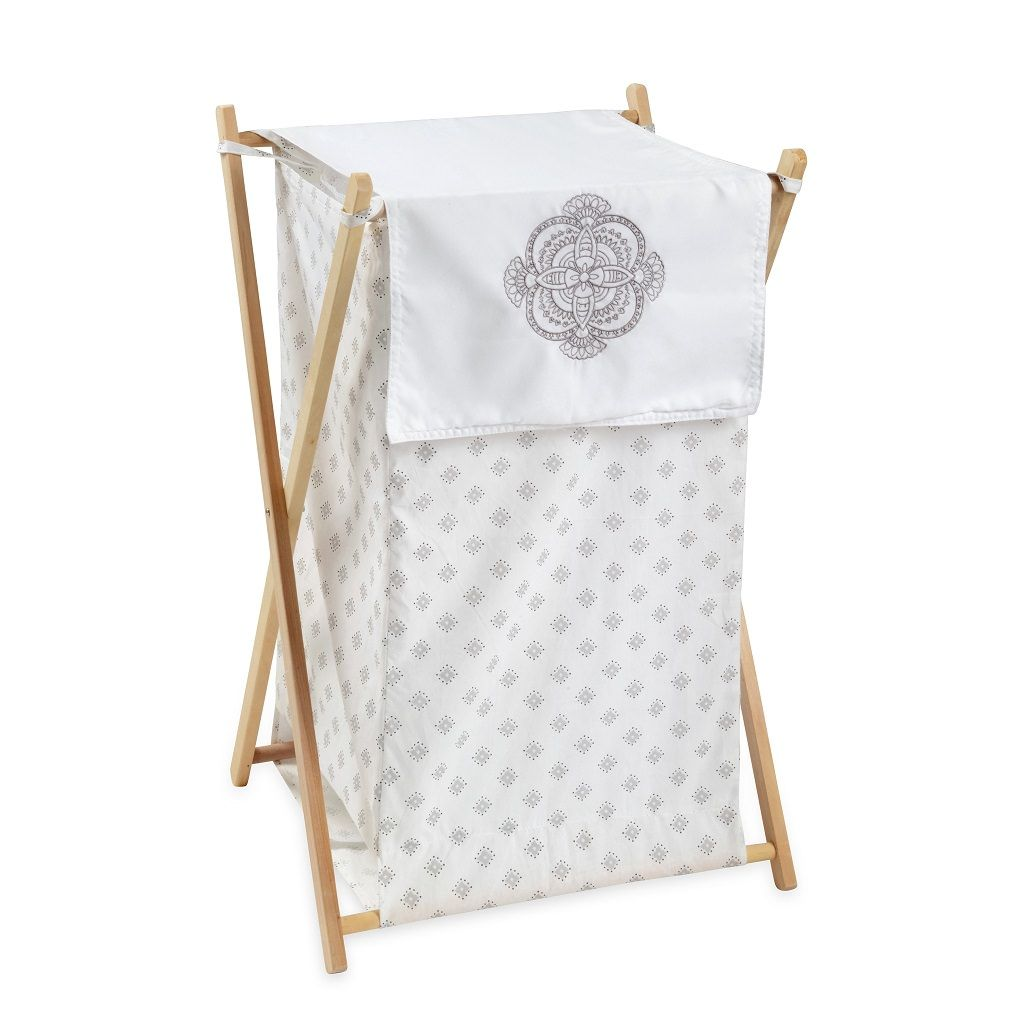 Willow White Hamper - babymoonnursery