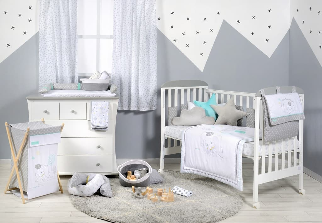 Dumbo Dream Big Crib Bedding Collection Crib Bedding Set - babymoonnursery
