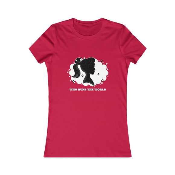 Who Runs The World - Women's T-Shirt