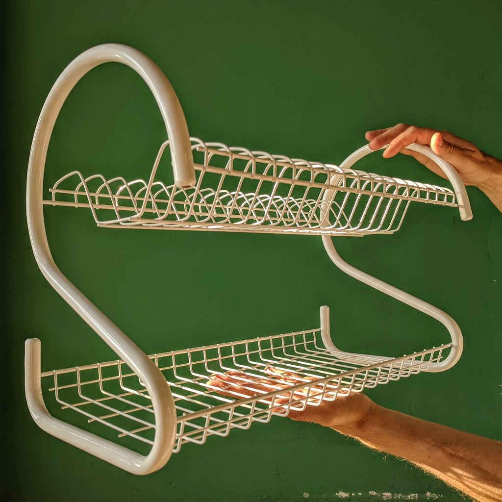 Two Level Draining Rack