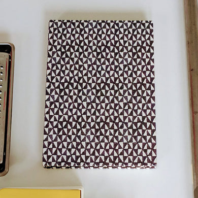 Triangle Patterned Notebook