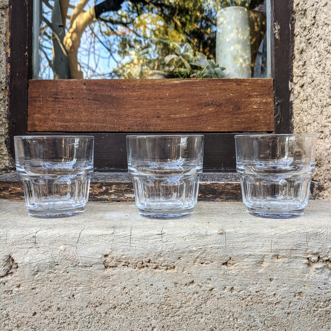 Petite Duralex Stacking Glasses Set