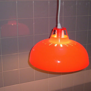 Red Lampshade