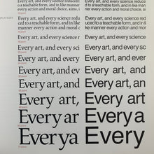 Typography: The Principles