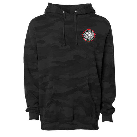 """The Club"" Black Camo Hoodie"