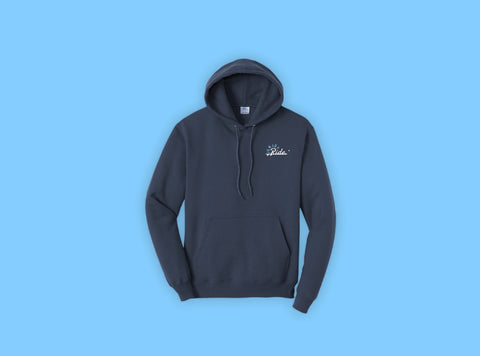 Waves Embroidered Hoodie