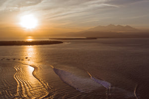 """Sunrise Over the Gili's"""