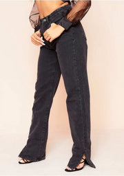 Nife denim black