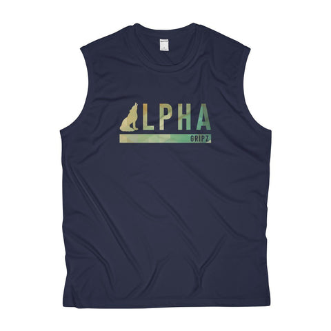 Alpha Wolf Performance Tank - Blue Hue