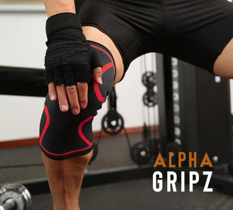 Alpha Knee-Compression Sleeve [1PC]
