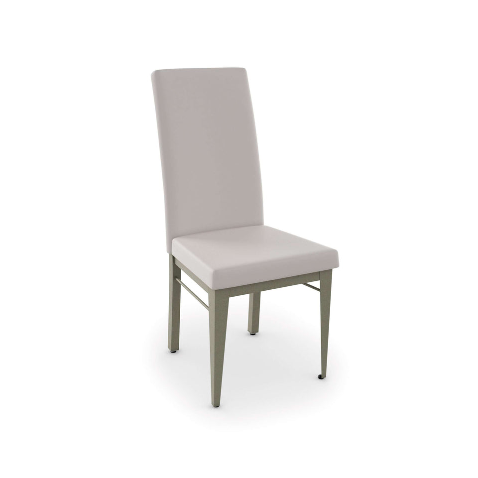 Merlot Dining Chair with Upholstered Seat and Backrest