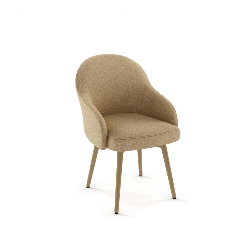 Weston Dining Chair with Upholstered Seat and Backrest