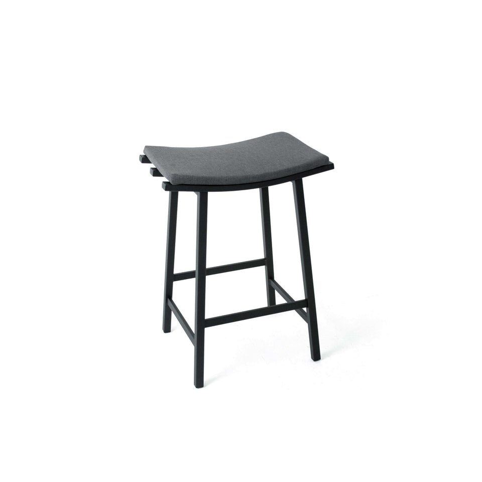 Amisco Nathan Non Swivel Counter Stool