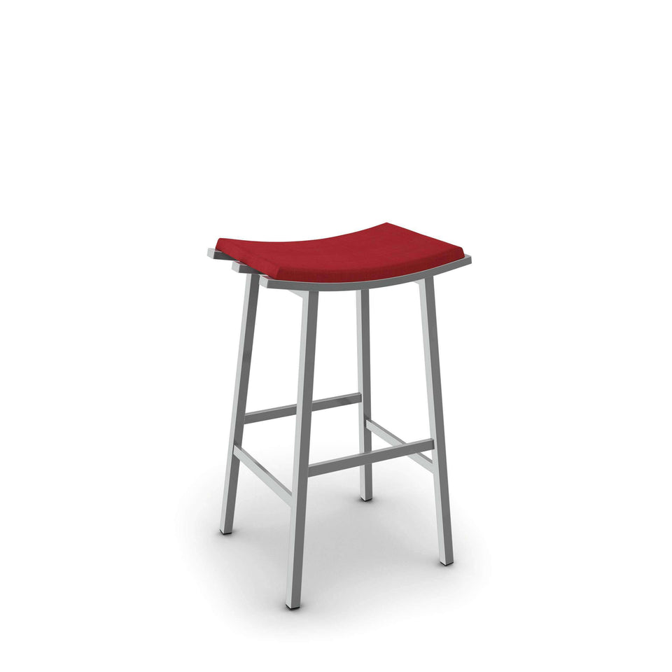 Amisco Nathan Non Swivel Bar Stool