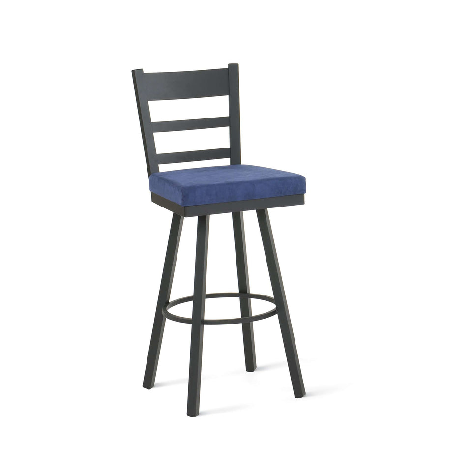 Amisco Owen Swivel Bar Stool
