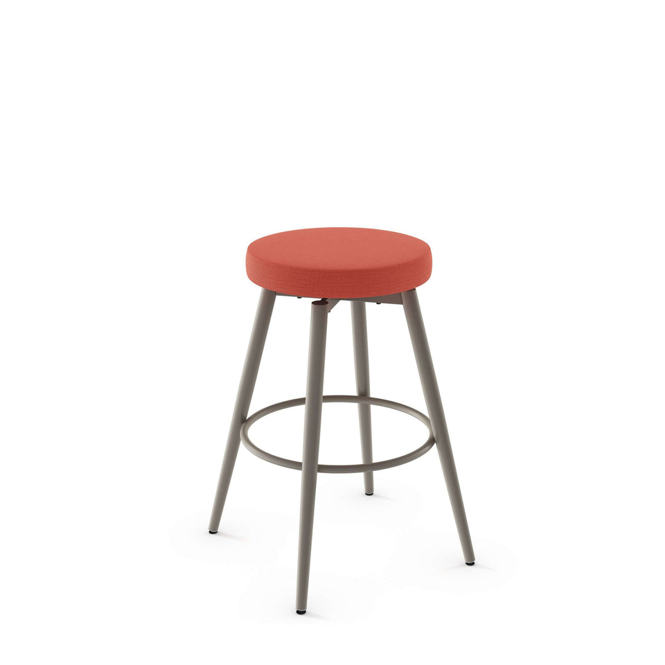 Amisco Nox Swivel Counter Stool