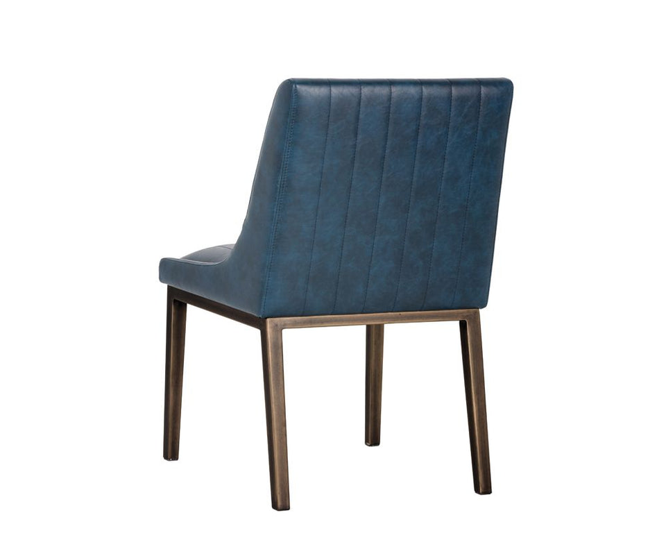Sunpan Halden Dining Chair - Vintage Blue