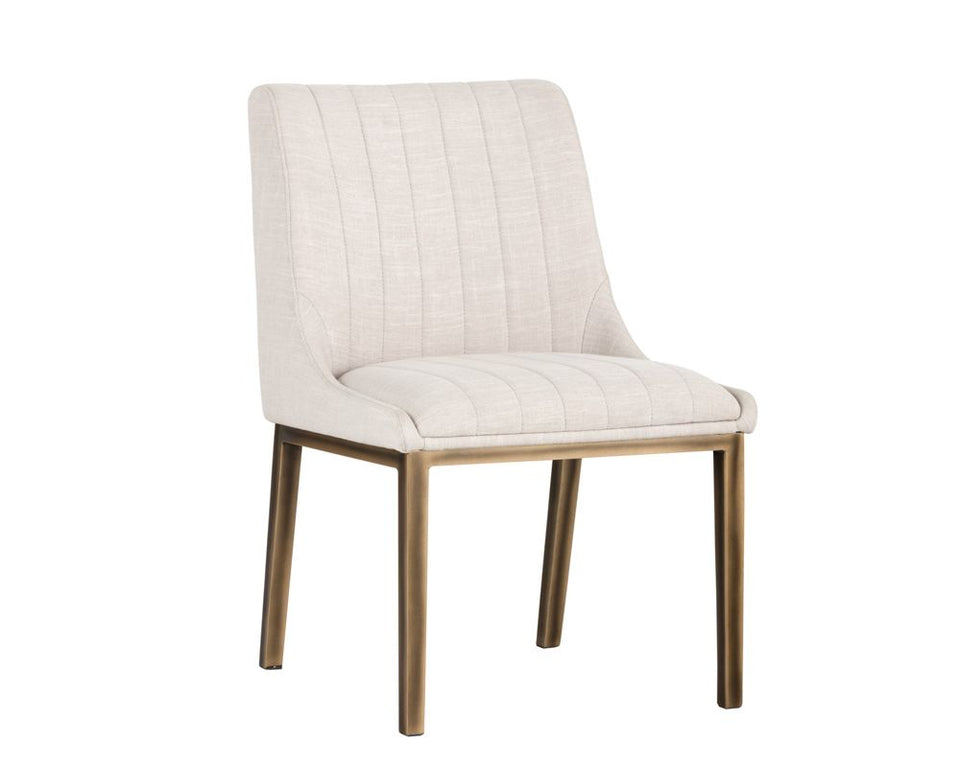 Sunpan Halden Dining Chair - Beige Linen