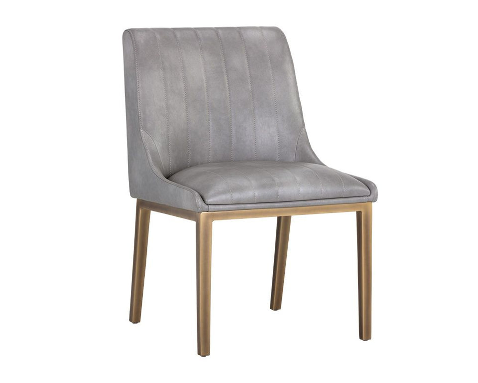 Sunpan Halden Dining Chair - Bravo Metal