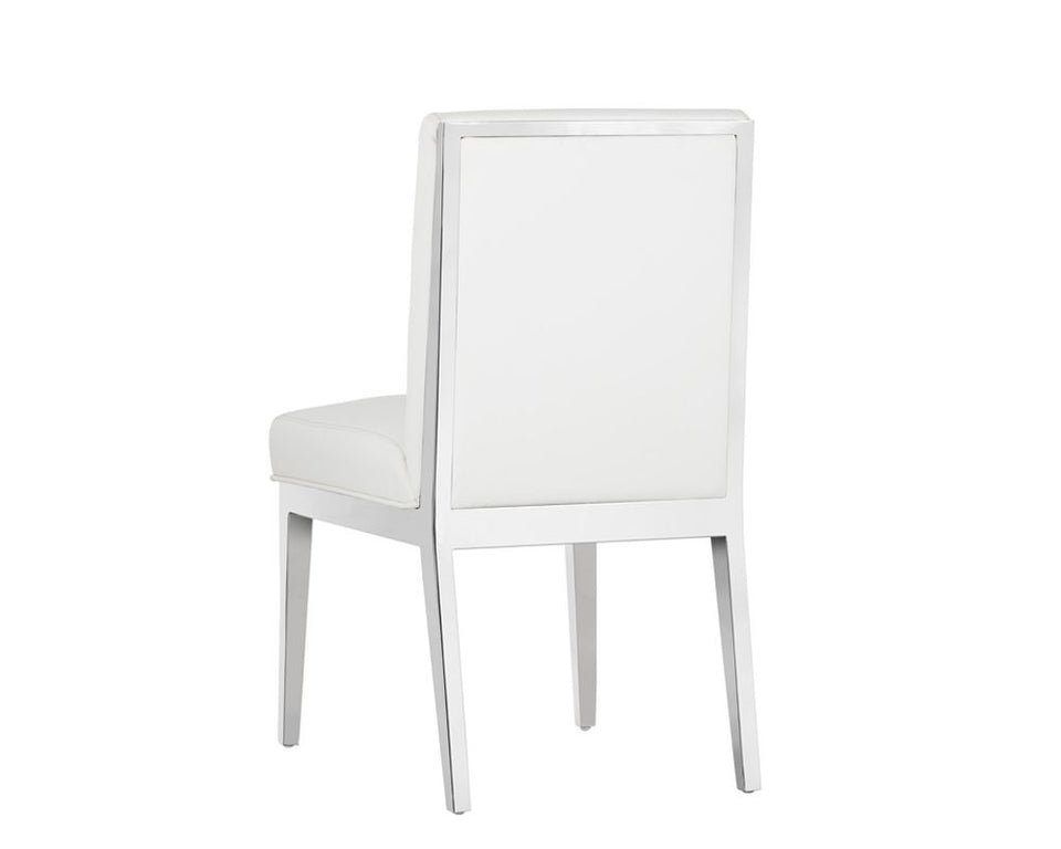 Sunpan Sofia Dining Chair - White