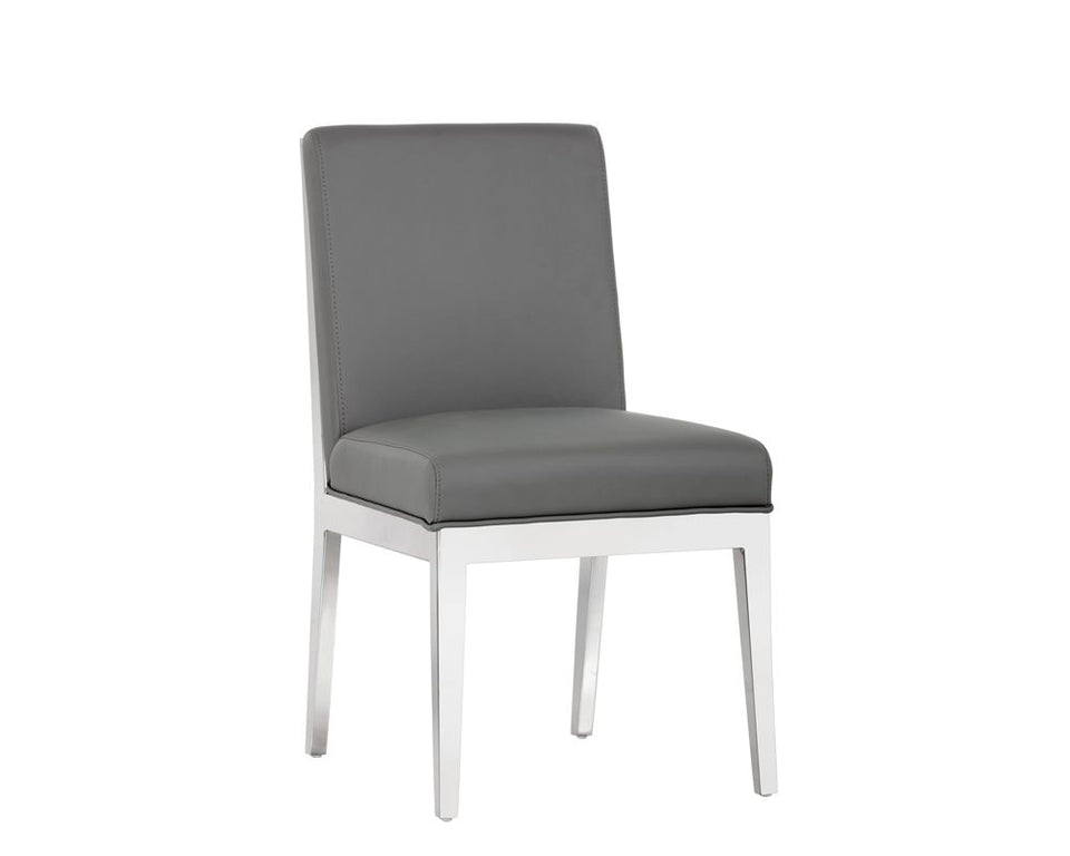 Sunpan Sofia Dining Chair - Grey