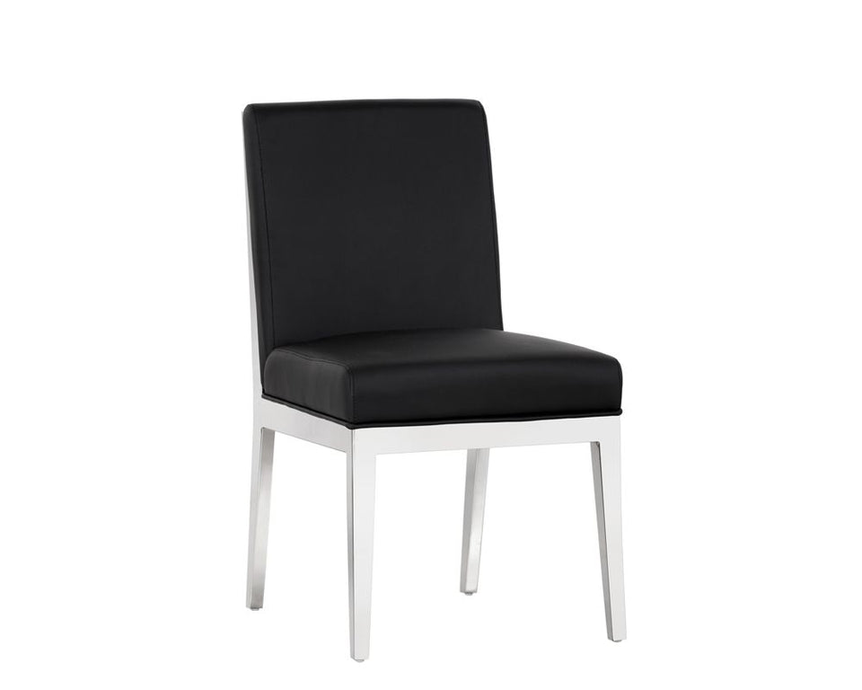 Sunpan Sofia Dining Chair - Black