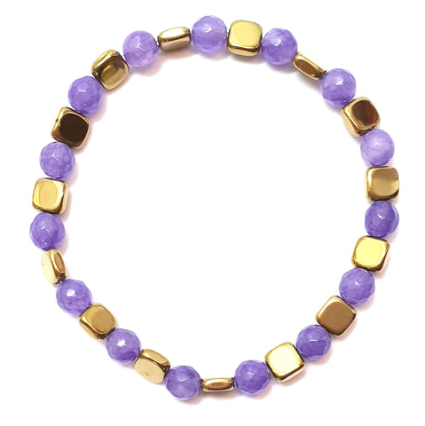 Pulsera Gold Plum