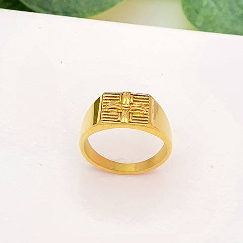 Anillo Sello Cross