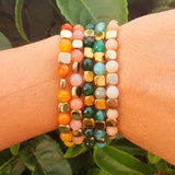Conjunto pulsera GOLD MIX