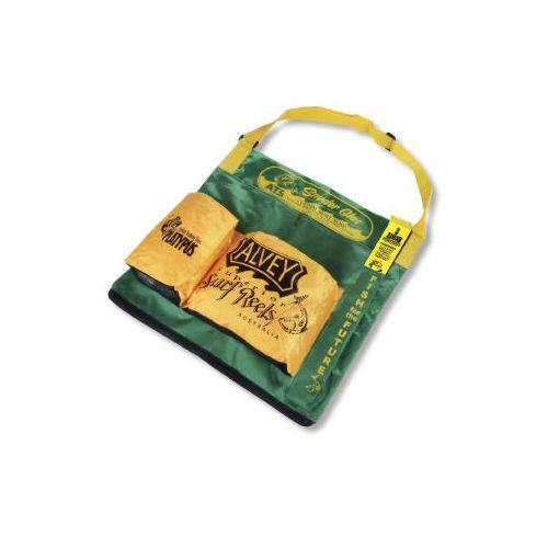 Alvey Wading Bag Green/Yellow Trim-Addict Tackle