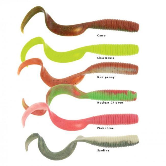 Berkley Gulp 6 Inch Grub Soft Plastics - Soft Plastics | Addict Tackle
