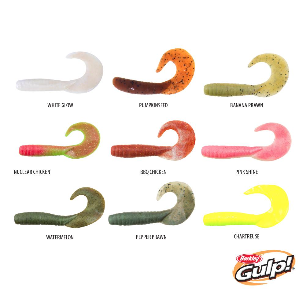 Berkley Gulp! Jigging Grub Soft Plastics - Soft Plastics | Addict Tackle