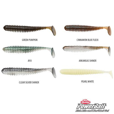 Berkley PowerBait Bubble Shiner Soft Plastics-Addict Tackle