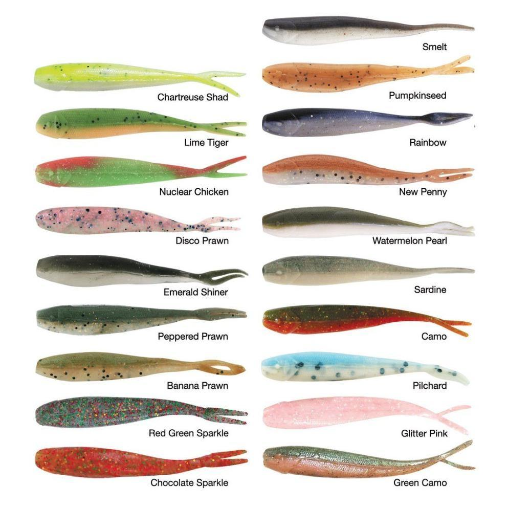 Berkley Saltwater Gulp! Minnow Soft Plastics-Addict Tackle
