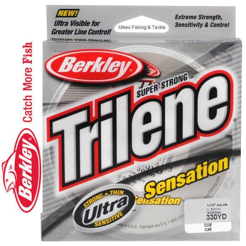 Berkley Trilene Sensation Mono-Addict Tackle