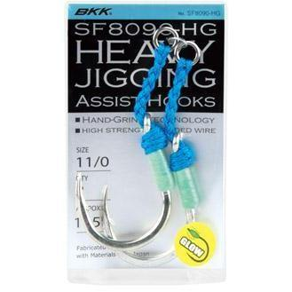 BKK 8090-6x Jig Assist Hooks-Addict Tackle