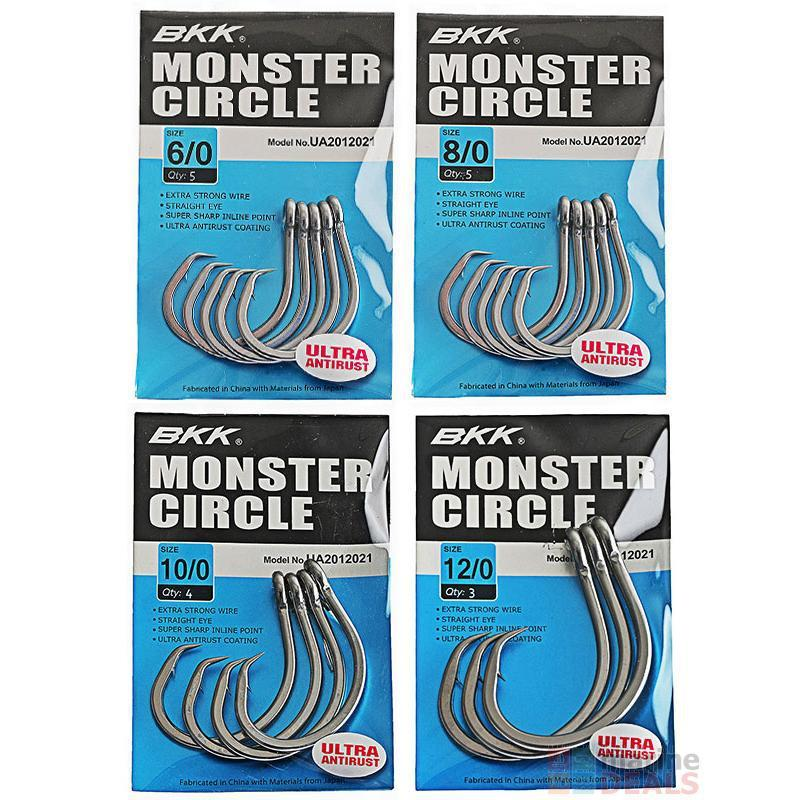 BKK Monster Circle Hooks-Addict Tackle