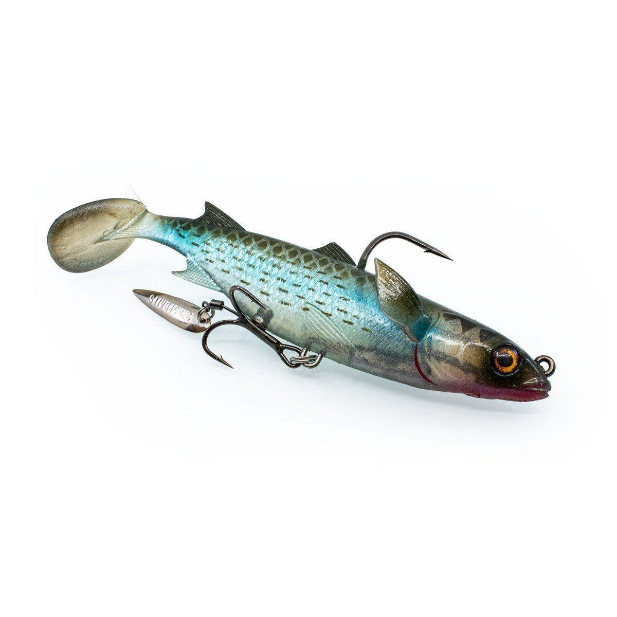 Chasebaits 125mm Poddy Mullet Lure-Addict Tackle